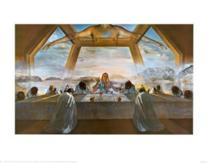 salvador-dali-the-sacrament-of-the-last-supper-c-1955
